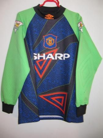 sneakers for cheap 3efa6 04827 Manchester United Goalkeeper football shirt 1994 - 1995 ...