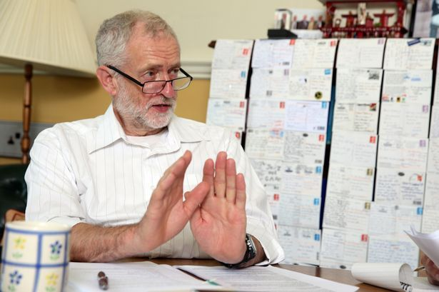 The Labour leader has explained what hundreds of postcards sent by Labour members mean to him