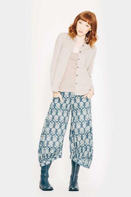 226c4b284554 Boom Shankar 50s dresses Printed Guru Pant - Womens Pants - Birdsnest Online  Clothing Store
