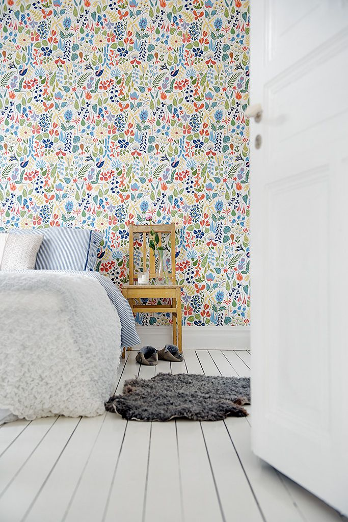 Bunte wand mit muster wand wall pinterest w nde for Bunte stehlampen