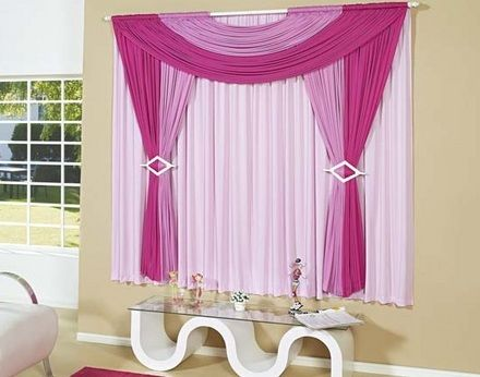 De cortinas!!! modernas e aconchegantes!
