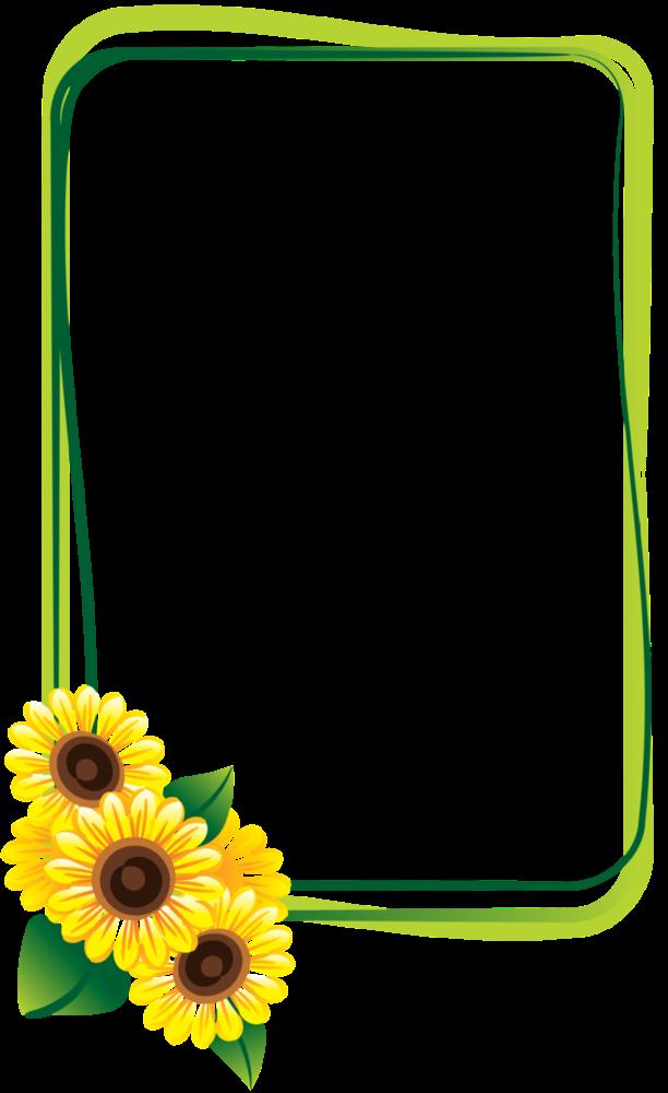 Forgetmenot Sunflowers Frames Sunflower Drawing Sunflower Wallpaper Flower Frame