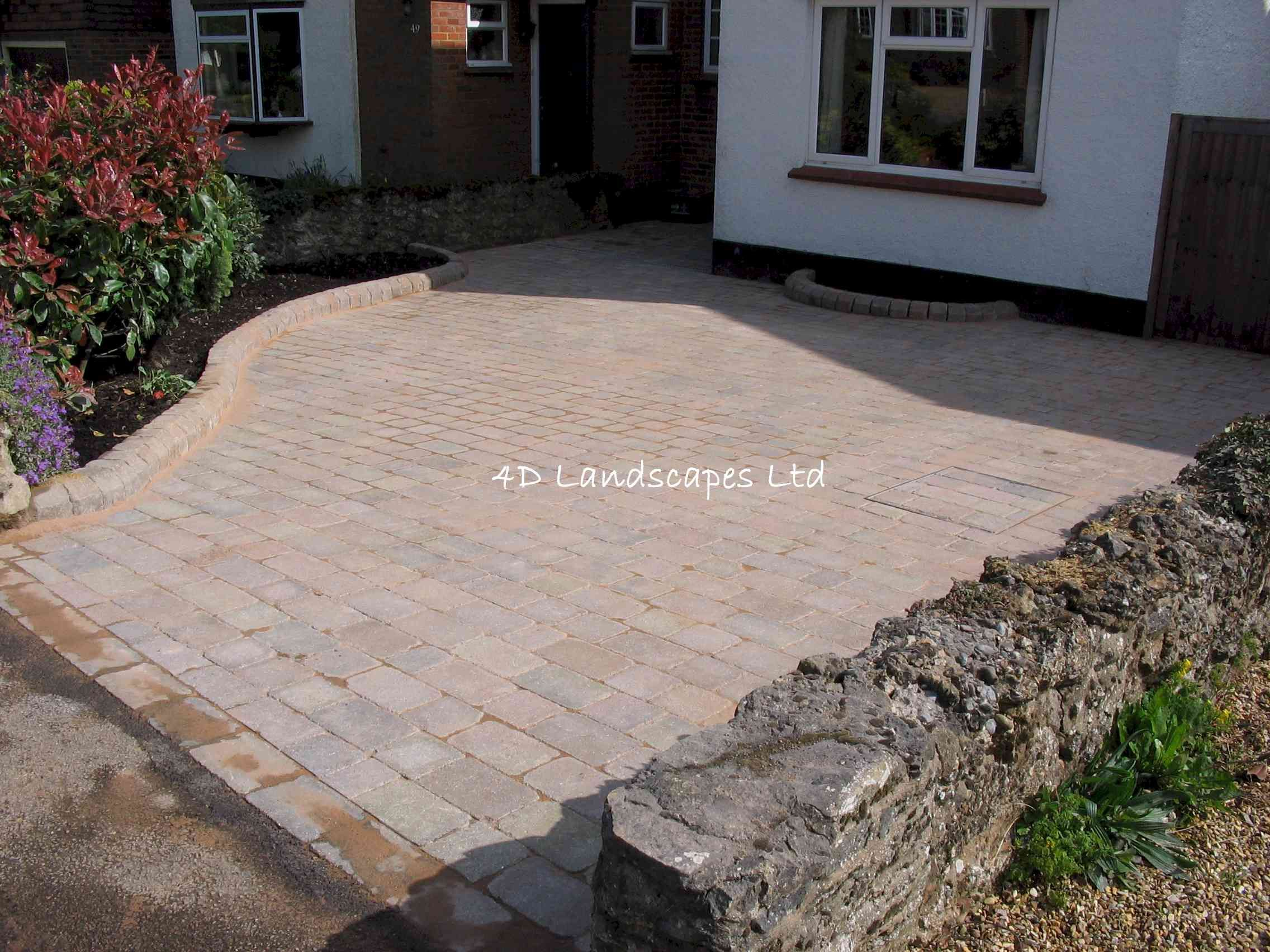 Inexpensive Driveways Hertfordshire Landscaping Company