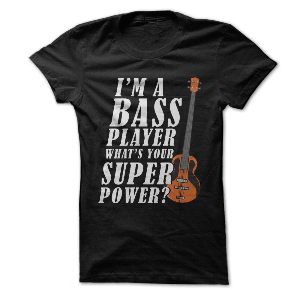 Relax The Bass Player/'s Here Guitar Adult T Shirt