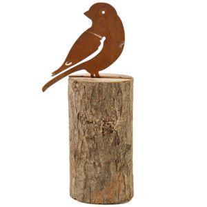 Dekoratívna soška Bird and Block