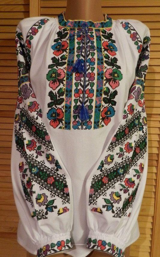 Борщівська вишиванка жіноча домоткане полотно 50- 52 розмір  продажа c40134c25c702