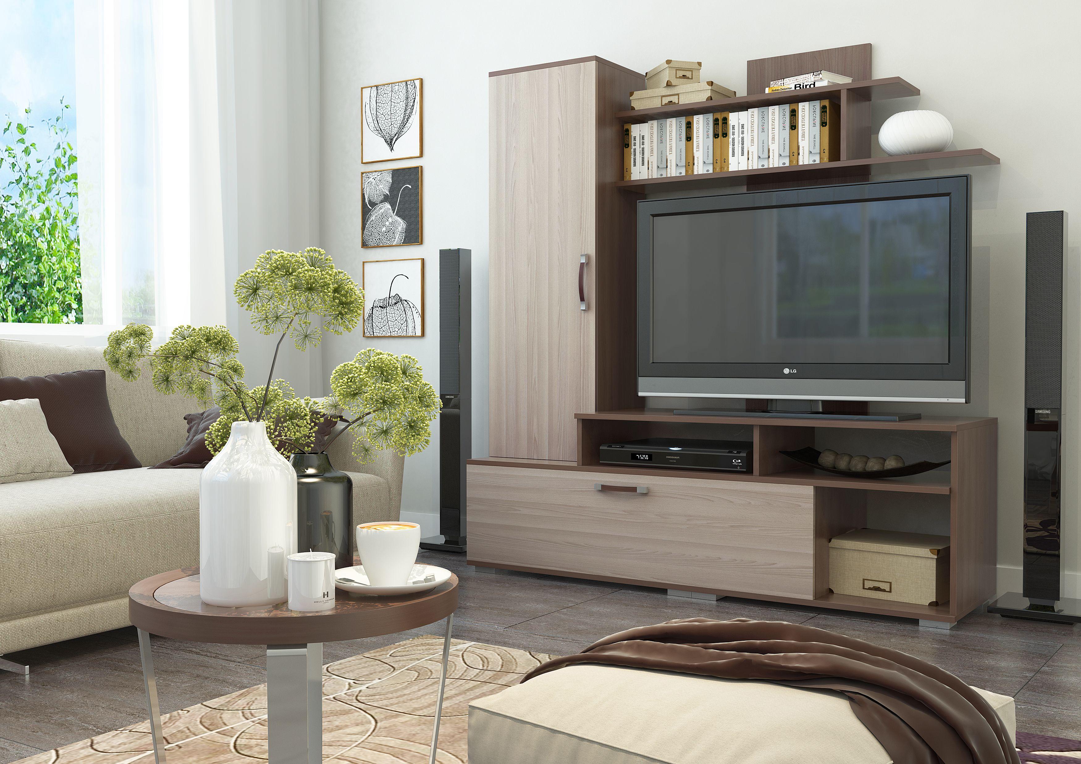Купить стенку горку для гостиной - небольшие стенки недорого в СПб