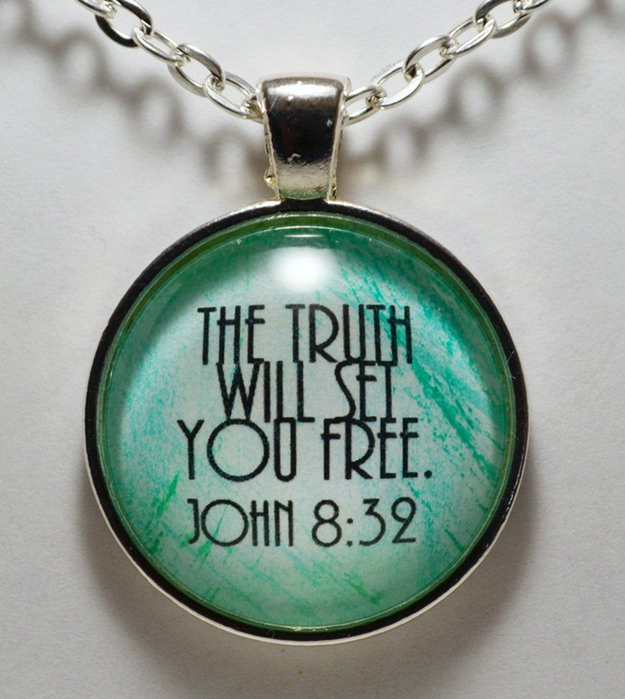 CLOSING SHOP SALE Jesus The Way The Truth The Life Pendant Necklace C L Murphy Creative CLMurphyCreative
