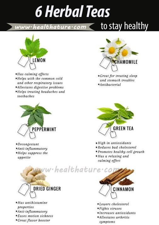 Herbal Tea To Stay Healthy