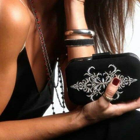 It's not a clutch...it's a jewel!  #itsallgreekonme