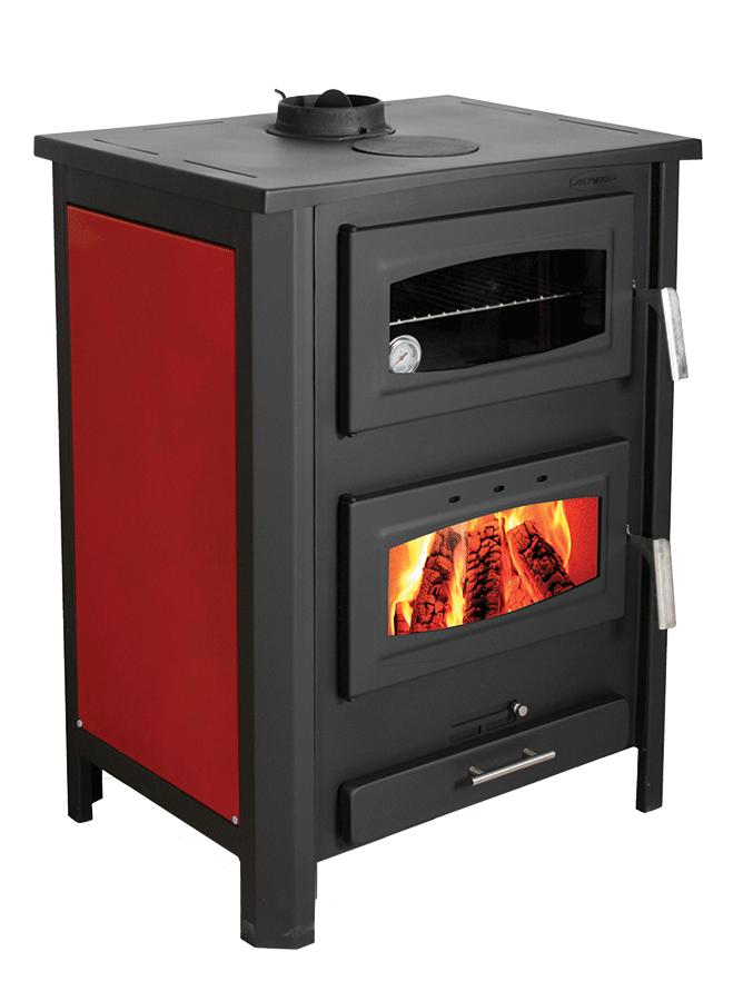 Estufa y horno de le a para cocinar puedes conectarla a - Cocinar en horno de lena ...