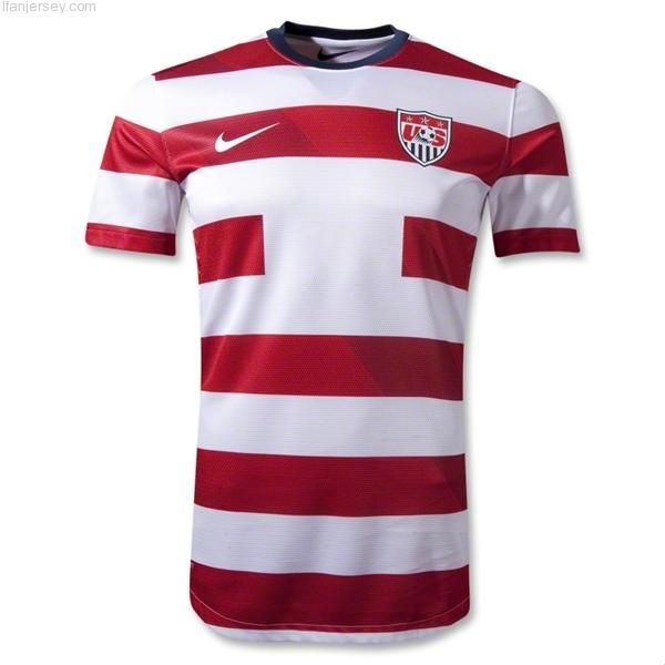 Good News Authentic Usa Custom Home Player Soccer Jersey 12 14 Available Here Http Ifanjersey Com 12 14 Usa Soccer Jersey World Soccer Shop Soccer Jersey