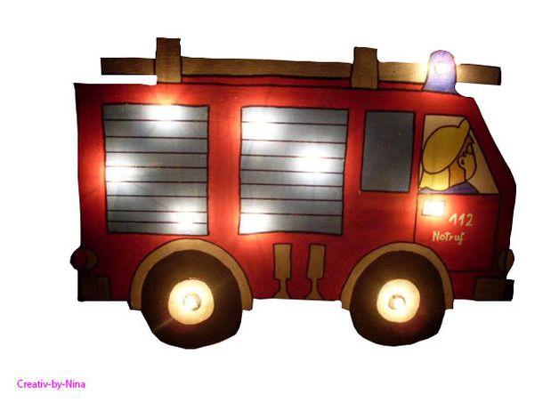 Wandlampen - Feuerwehrlampe - ein Designerstück von Creativ-by-nina ...