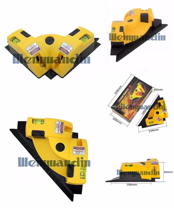 visit to buy right angle 90 degree square level laser vertical horizontal laser line projection measuring tool
