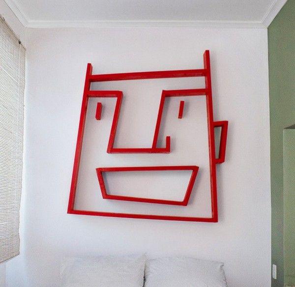 1 face shelf - by Alexi Mccarthy