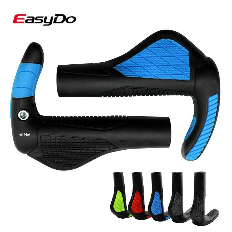 Best Price Easydo Lock On Bike Bicycle Grips Ergonomic Soft
