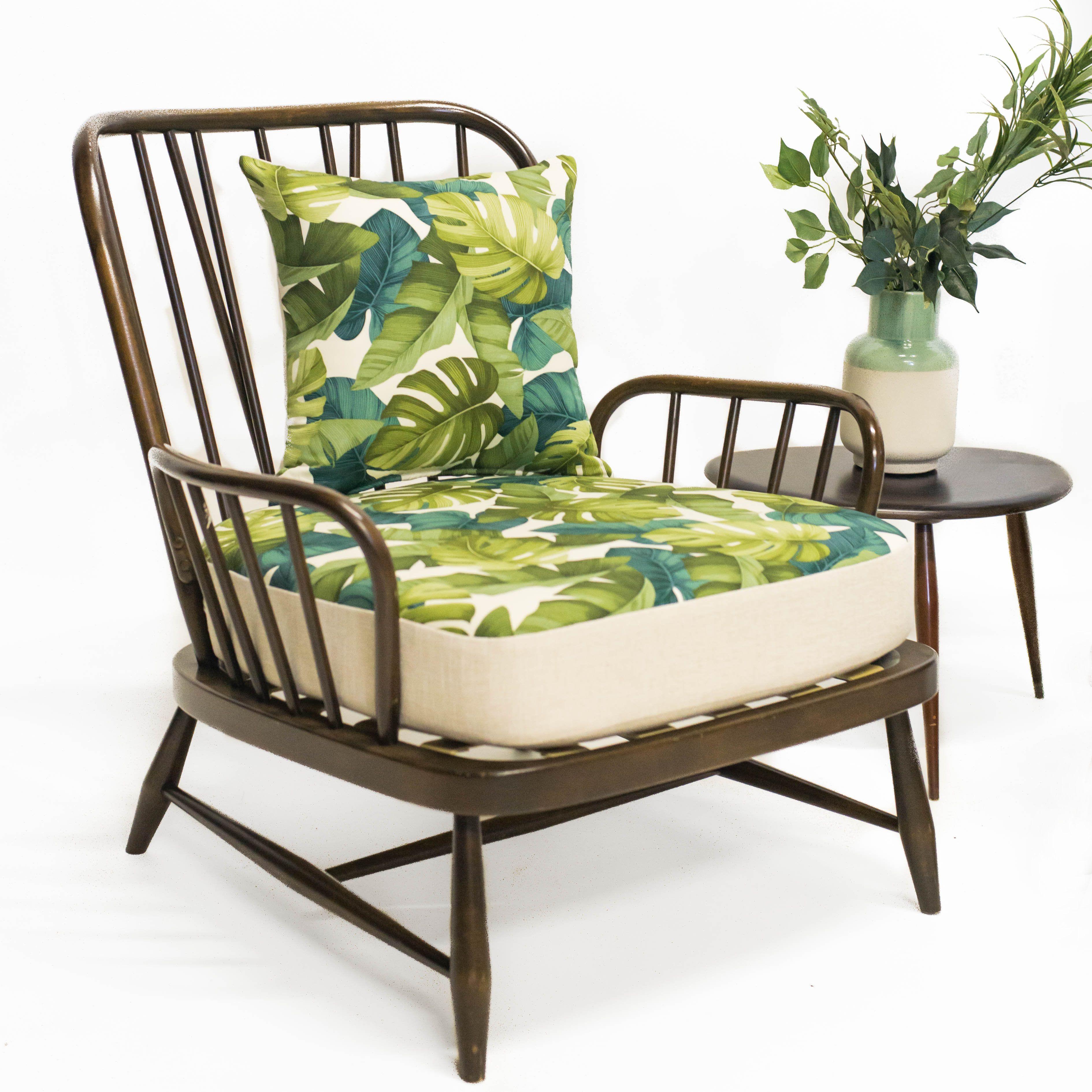 Ercol Jubilee Chair in Palm & Cream   Mood Board - Palmeras ...