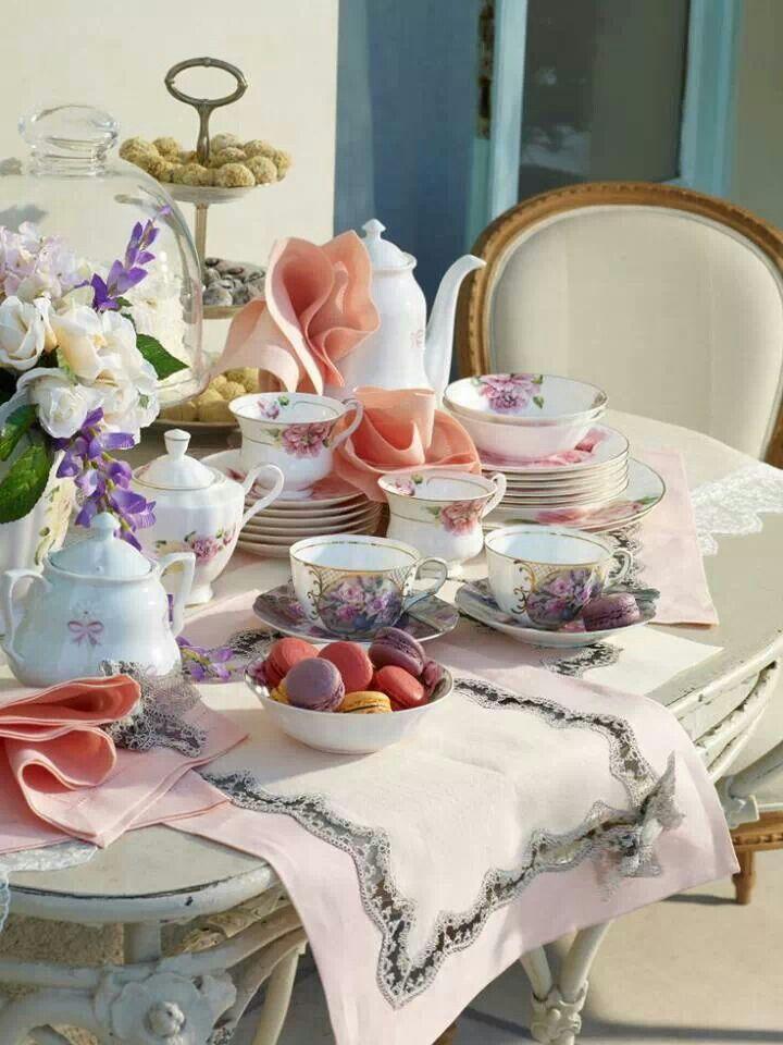 So Inviting Afternoon Tea Spring Tea Tea Party Garden