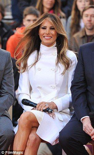 Trump To Promote Melania As A Jackie O For The 21st Century Trump Fashion First Lady Melania Trump Donald And Melania Trump