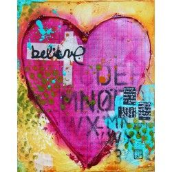 February Canvas Create Video by Donna Downey