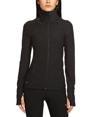 Tina chasquido reunirse  Nike Women's Legend 2.0 Poly Jacket - Medium - Black Nike,http://www.amazon.com/dp/B00DNNYASE/ref=cm_sw_r_pi_dp_Qrl8sb19S0RFKN…    Black nikes, Nike women, Fashion n