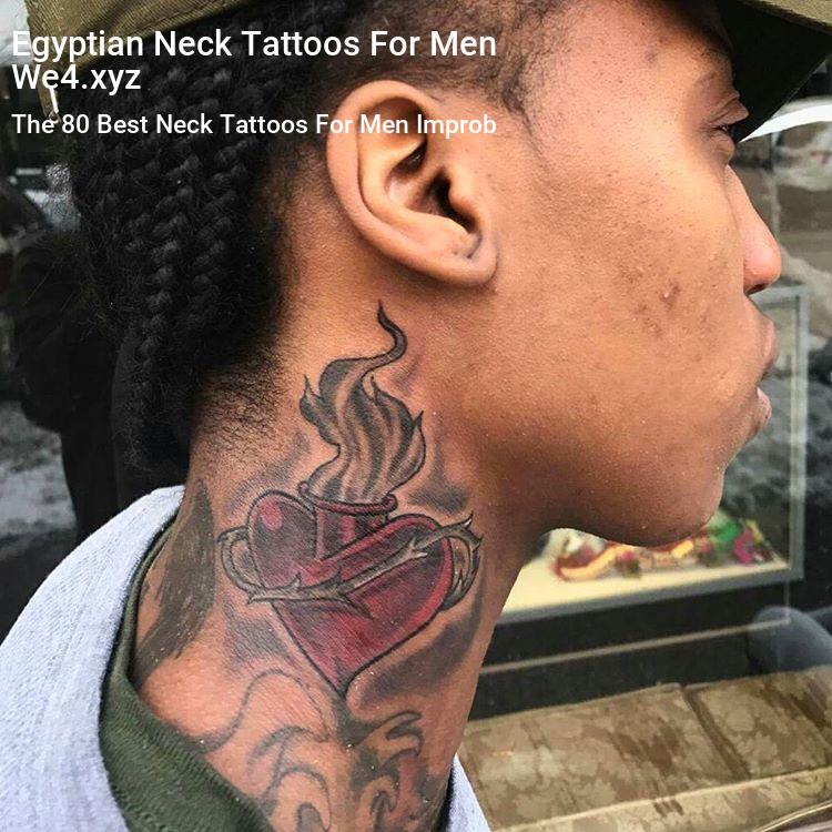 Egyptian Neck Tattoos For Men Neck Tattoo For Guys Side Neck Tattoo Front Neck Tattoo