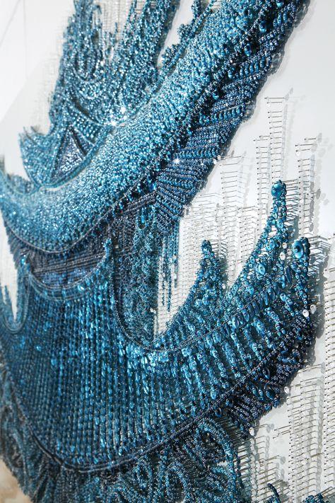 Ran Hwang crează adevărate opere de artă din nasturi