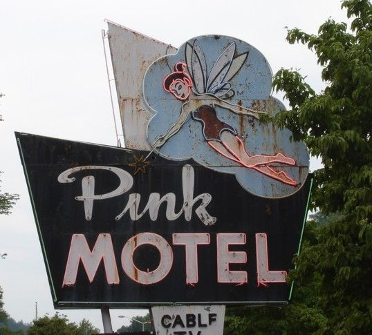 Pink Motel, Cherokee, NC   The Vintage Traveler  http://thevintagetraveler.wordpress.com/2009/06/27/looking-for-vintage-cherokee/