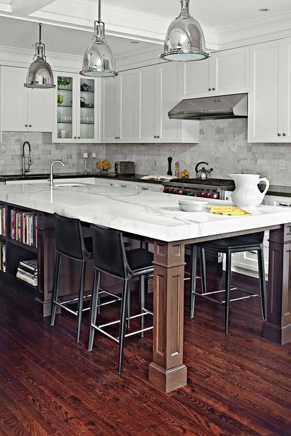 30 brilliant kitchen island ideas that make a statement kitchen seating kitchen with long on kitchen ideas with island id=81348