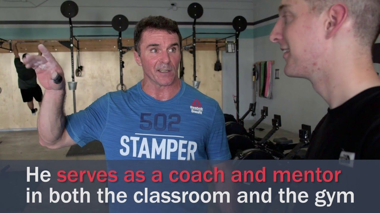 Behind The Uniform Dr Chris Stamper Stampers Stay Fit Mentor