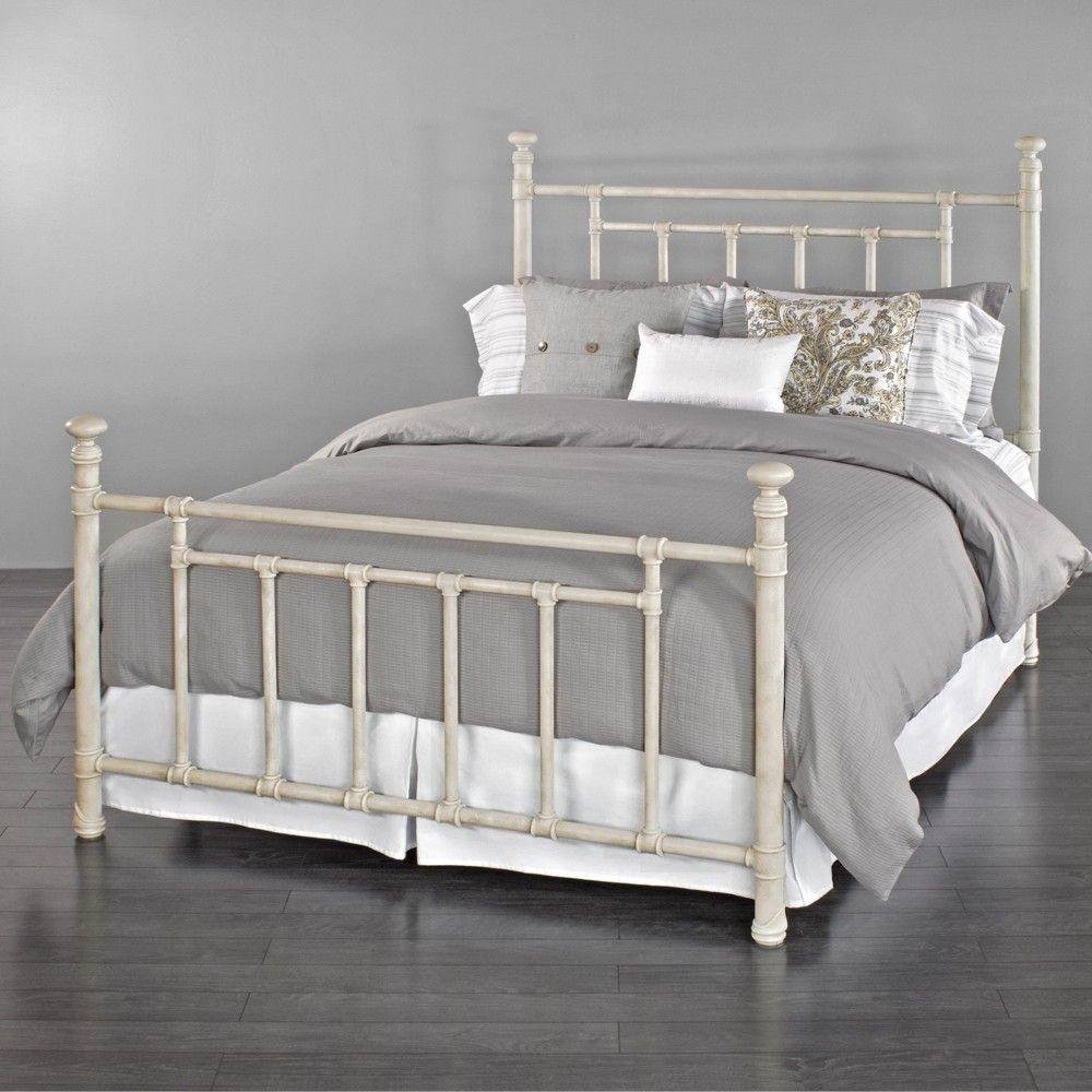 White Metal Bed Framesblake iron bed wesley allen humble abode ...