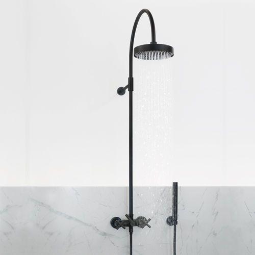 Dornbracht Tara Collection Shower System In Black