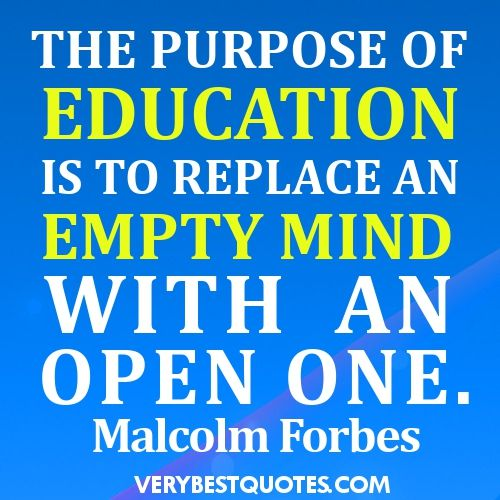 Education Quotes Inspirational | Educationa Quotes, Learning ...