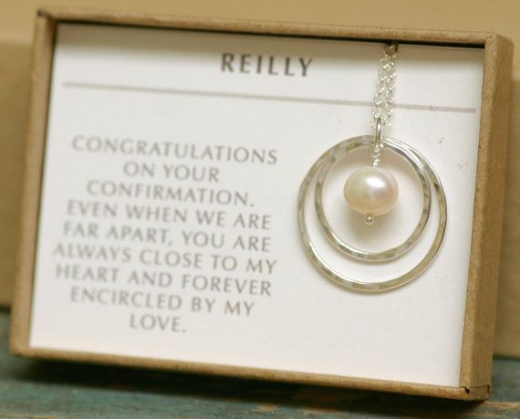 Gift For Goddaughter Birthstone Necklace Sterling By: Confirmation Gift For Daughter Necklace For By
