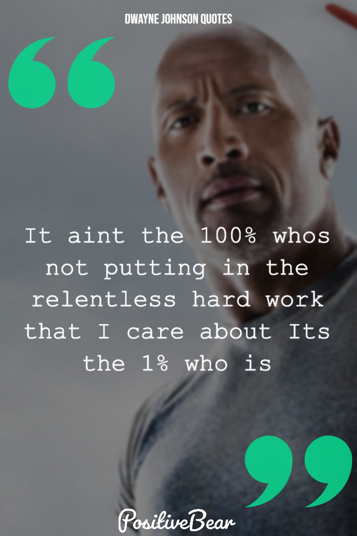 38 Inspirational Quotes By Dwayne The Rock Johnson In 2020 Inspirational Quotes Dwayne Johnson Quotes Celebration Quotes
