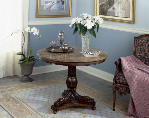 Fresh Round Entry Table Furniture