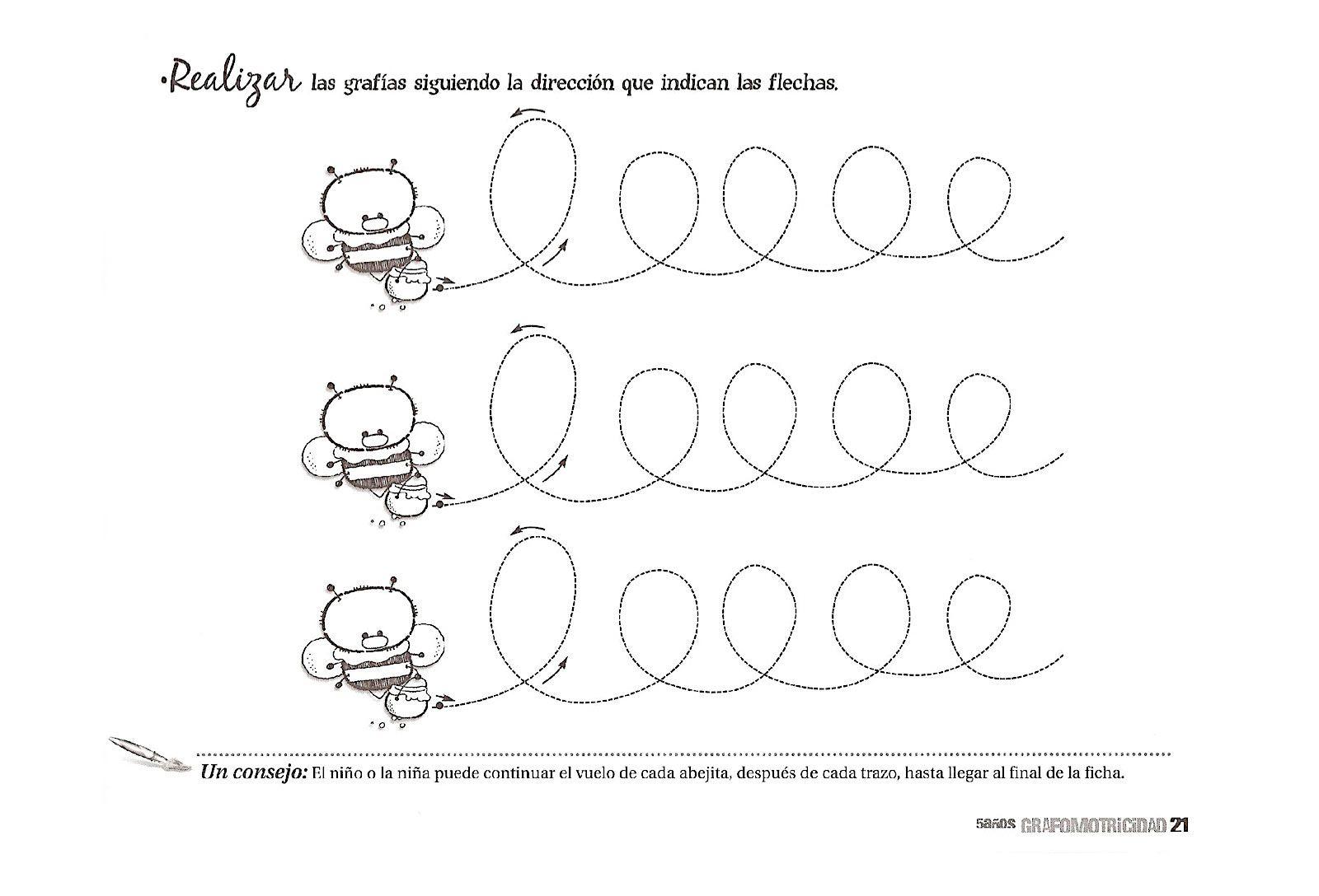 Colorear Dibujos Ninos 3 Anos: FICHAS PARA NIÑOS: Fichas De Aprestamiento Para Niños De 3