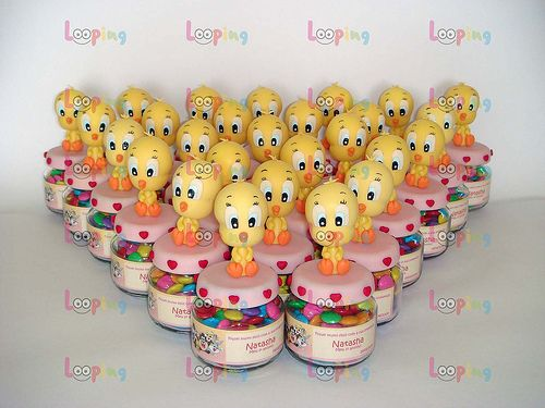 Baby Shower Looney Tunes | Baby Looney Tunes Favor Birthday Party | Tips  Kids Party