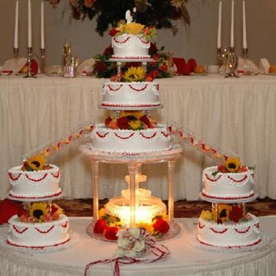 water fountain wedding cake gallery quinceanera cakes with fountains 21676