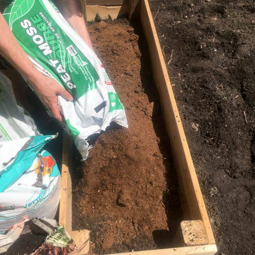 Creating Our First Vegetable Garden Advice Please: DIY Raised Garden Bed (and An Easy Soil Mixture Blend To