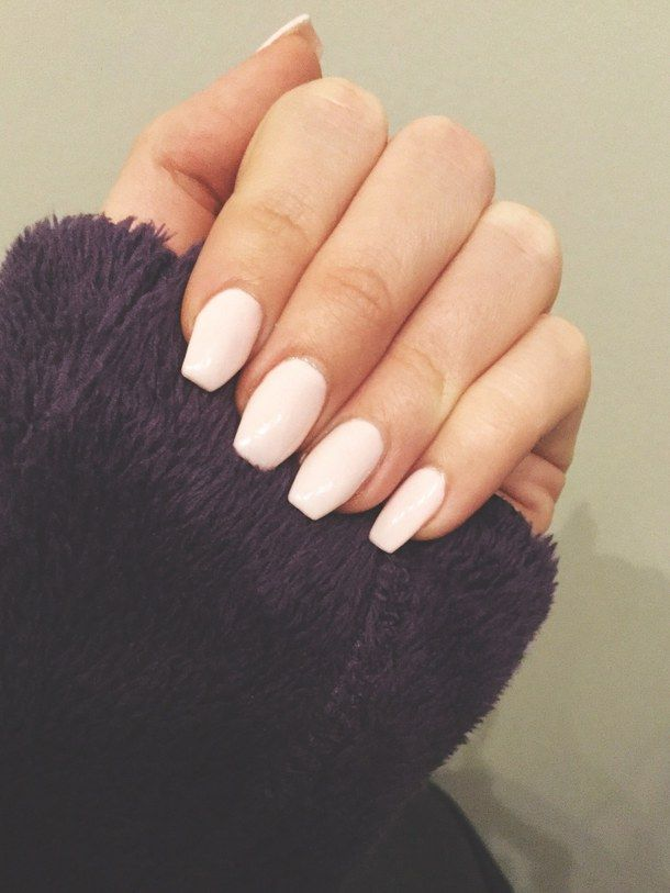baby pink nails - Google Search | Beautiful | Pinterest | Baby pink ...