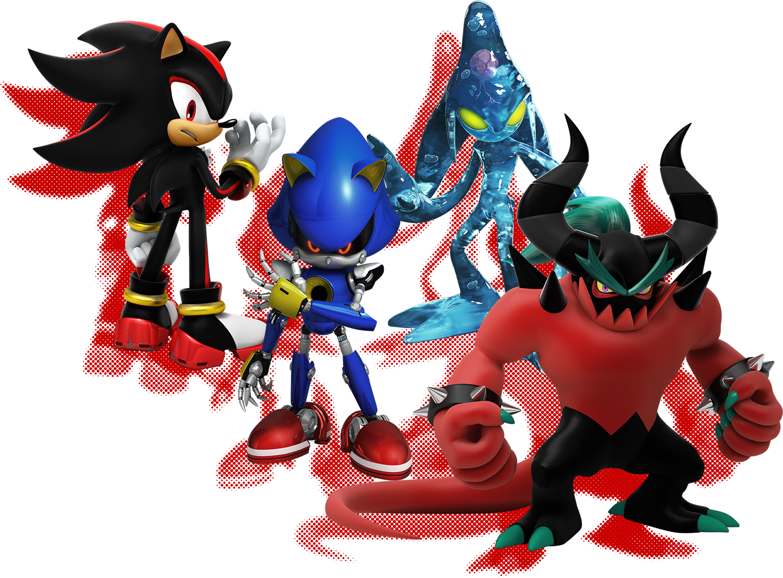 New Sonic Forces Art The Uprising Group Sonic Birthday Parties Sonic Birthday Sonic