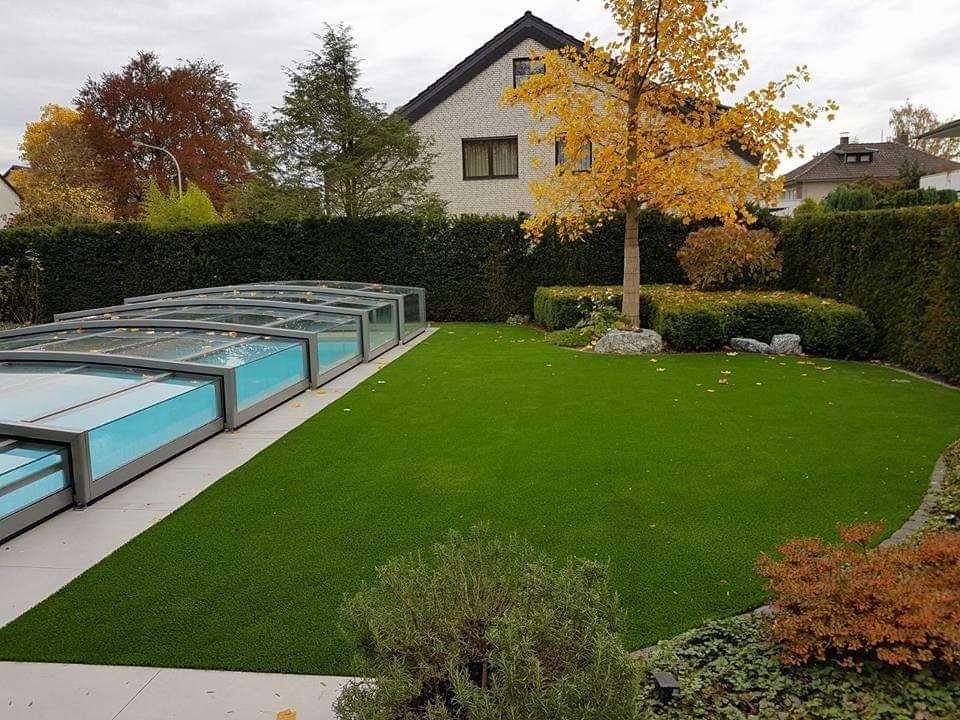 Kunstrasen Im Garten Kunstrasen Rasen Garten