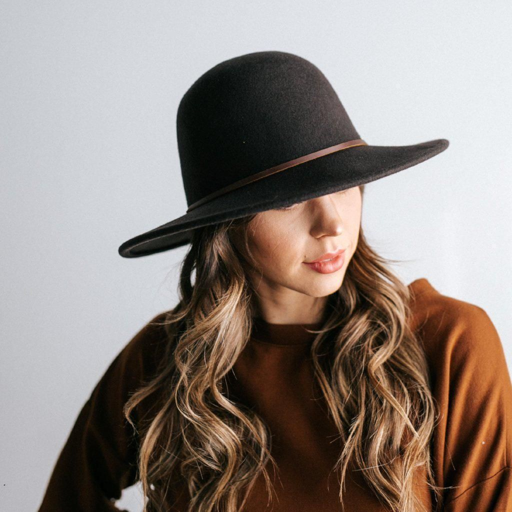 Hallie Wide Brim Safari Hat For Women Gigi Pip Felthats Womenshats Traveloutfit Adventurehat Hats For Women Hat Fashion Felt Hat