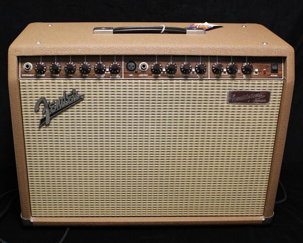 Details About Fender Acoustasonic Junior Dsp Acoustic Guitar Mic