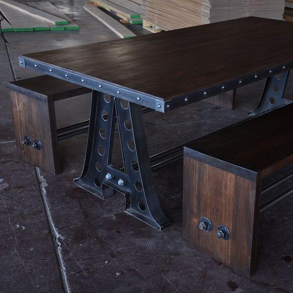 Vi Bench Vintage Industrial Furniture Diy Industrial Furniture