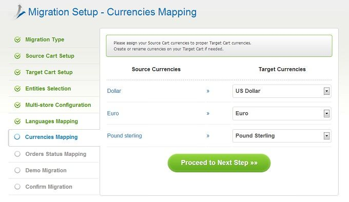 7. Map Currencies
