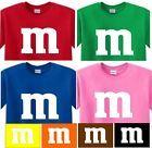m t shirt M & M SHIRT Halloween CANDY costume #mamp;mcostumediy