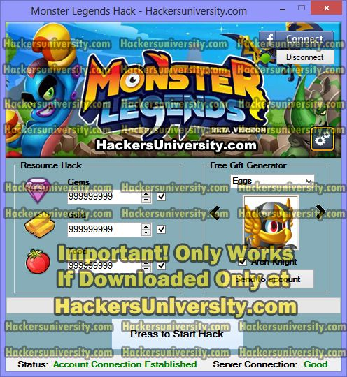 Monster Legends Hack and Cheats