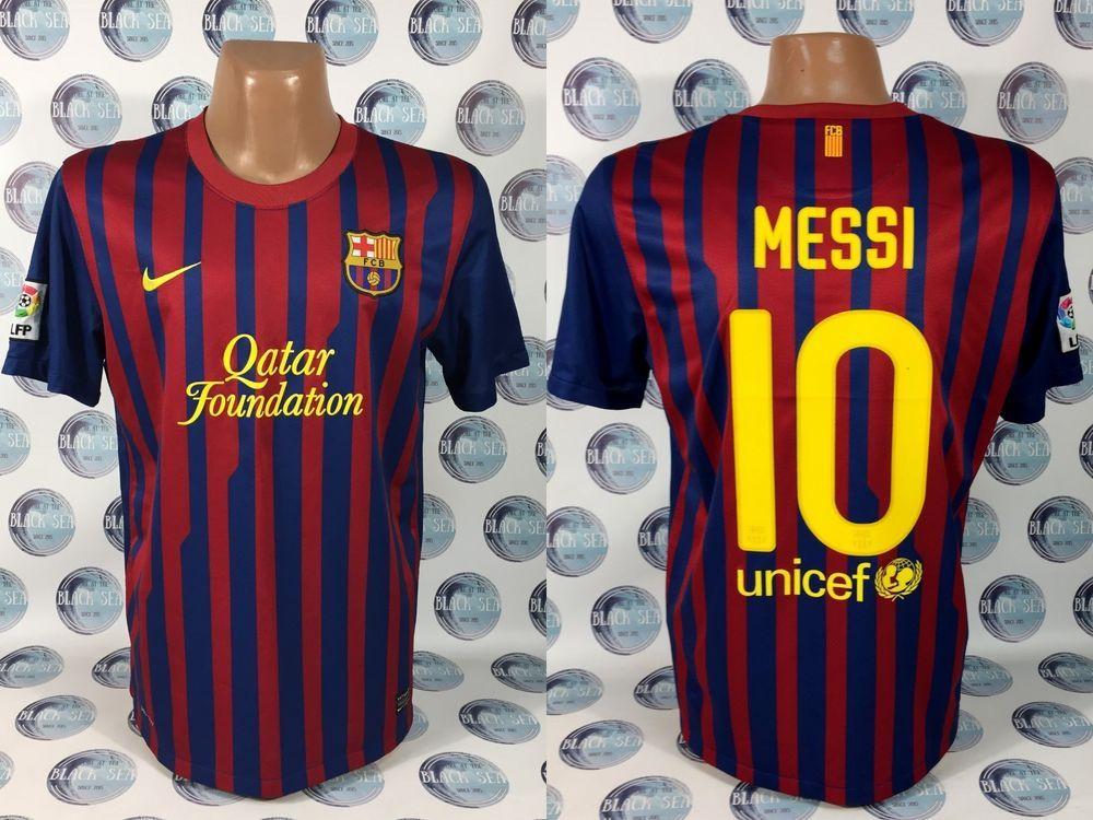 9ec035c53cb BARCELONA 2011 2012 #10 MESSI HOME FOOTBALL SOCCER SHIRT JERSEY CAMISETA  NIKE L #Nike #Barcelona